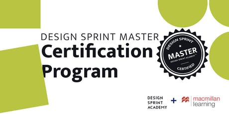 Design Sprint Master Certification Program - NYC tickets