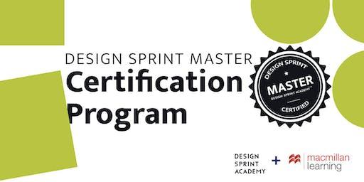 Design Sprint Master Certification Program - NYC