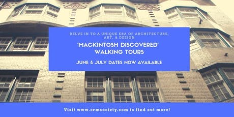 Mackintosh Discovered Walking Tour tickets