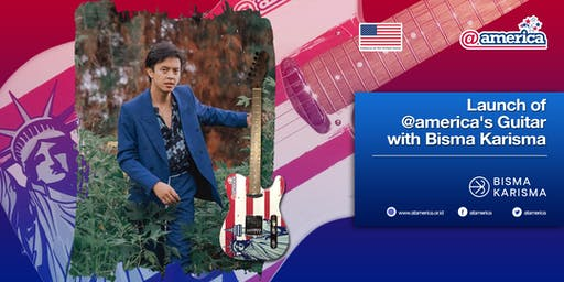 Launch of @america's Guitar with Bisma Karisma