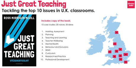 Just Great Teaching - Manchester tickets