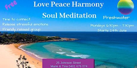 Meditation - Love Peace Harmony Soul Meditation tickets