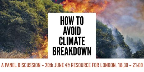 How to Avoid Climate Breakdown (London) tickets