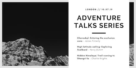 Adventure Talks Series: London tickets