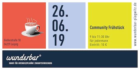 Community Frühstück Tickets