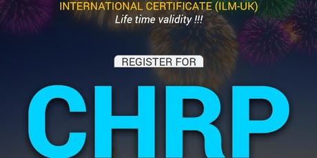 Cool Summer Offer -REI CHRP & CHRM Training courses tickets