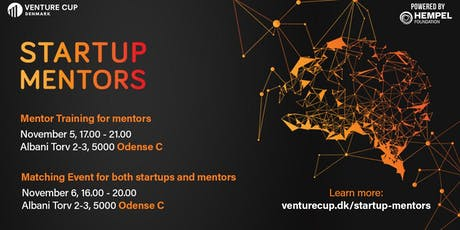 STARTUP MENTORS EVENT: Batch 2 / Odense tickets