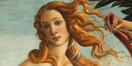 Giochiamo e impariamo con la Venere di Botticelli - dal Rinascimento ai nostri giorni tickets