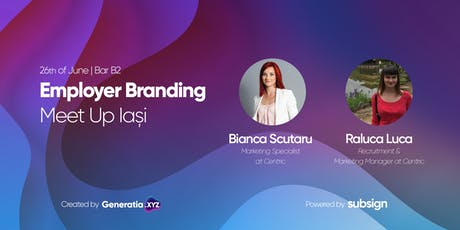 Employer Branding Meetup Iași #5 - Engaging Gen Z tickets