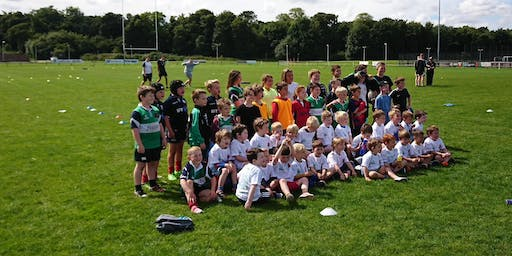 Dunbar Rugby Summer Camp P3-P7 (School Year 2019/20) 29th July - 31st July 2019