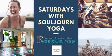 Saturdays with Souljourn Yoga tickets