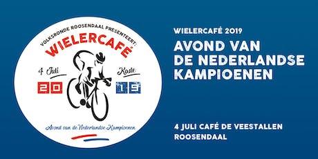 Wielercafé Volksronde 2019 tickets