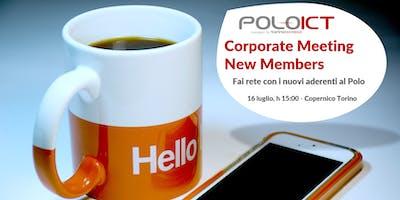 Corporate Meeting New Members