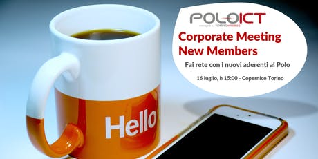 Corporate Meeting New Members biglietti