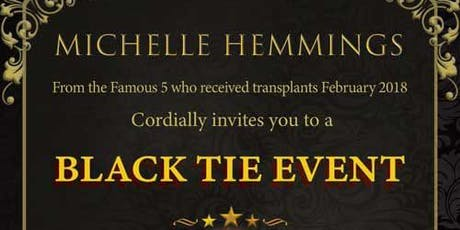 Michelle Hemmings fundraising and awareness event tickets