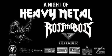 A Night of Heavy Metal 2019 - Headliner: Ross the Boss Tickets