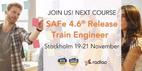 SAFe 4.6® Release Train Engineer tickets