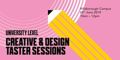 Creative & Design Taster Event - University Level tickets