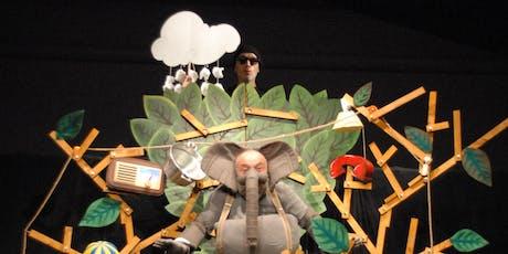 GIROVAGARTE - CARICHI SOSPESI - L'elefante delicato biglietti