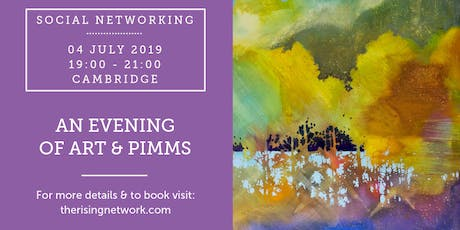 An Evening of Art & Pimms tickets