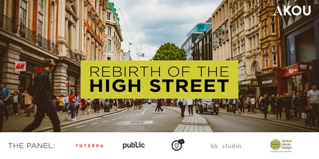 REBIRTH of the high street: transforming town centres tickets