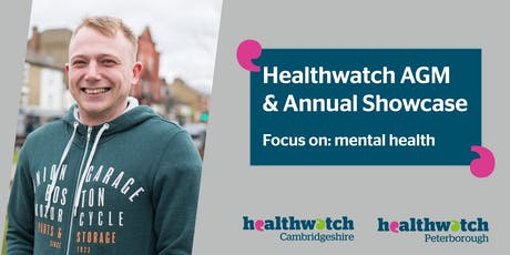 Healthwatch AGM and annual showcase  tickets