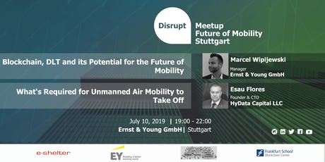 Future of Mobility - Powered by Blockchain and Air-Mobility Infrastructure  tickets