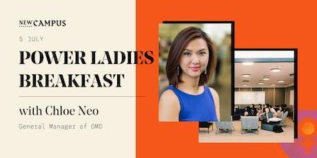 Power Ladies Breakfast: Chloe Neo, MD of OMD (Omnicom Group) tickets
