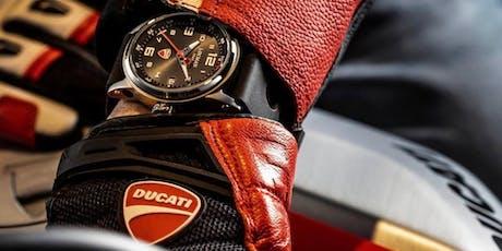 Locman e Gioielleria Grassi - Cocktail Party Ducati Motors biglietti