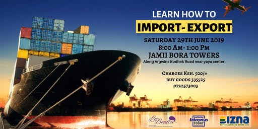 Import and Export Training Event