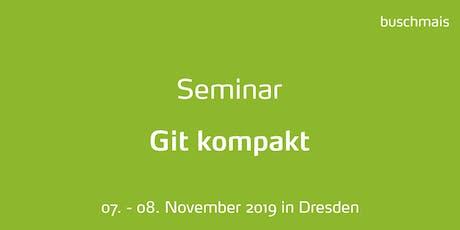 Seminar: Git kompakt Tickets