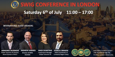 SWIG Conference in London tickets