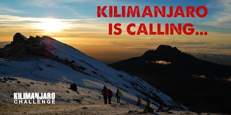 Kilimanjaro Challenge Open Evening - Tuesday 13th August 2019 tickets