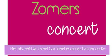 Zomers Concert tickets