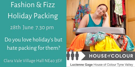 Fashion & Fizz Holiday Packing  tickets