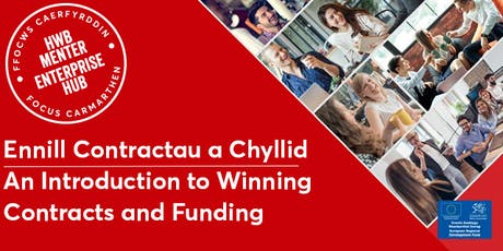 Ennill Contractau a Chyllid  | Top Tips for Winning Contracts & Funding tickets