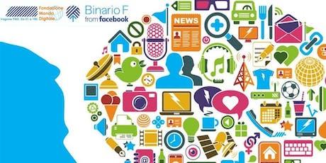 Estate al Binario F - Creative Summer Camp - Il tuo caso di comunicazione web biglietti