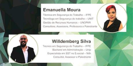 Segurança e Segurança do Trabalho no eSocial Recife ingressos