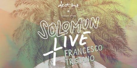 SOLOMUN + LIVE · Francesco Tristano tickets