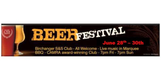 Birchanger Sports and Social Club Beer and Cider Festival