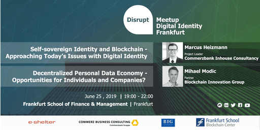 Disrupt Meetup | Blockchain Based Digital Identity Systems