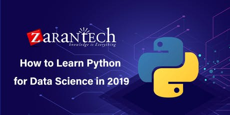 How to Learn Python for Data Science in 2019 (FREE Online Live Webinar) tickets