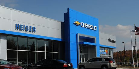 4th of July Specials at Heiser Chevrolet West Bend tickets