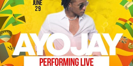 Ayo Jay Performing LIVE!: The Afro-Caribbean Connection tickets