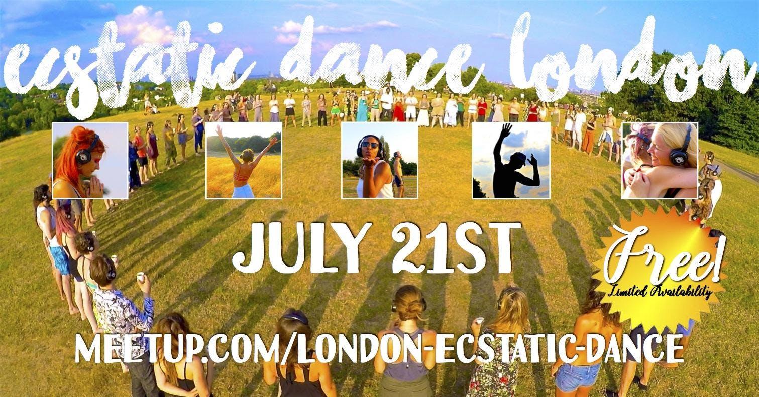 Ecstatic Dance Festival London presents: Outdoor Silent Disco