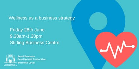 Wellness as a Business Strategy tickets