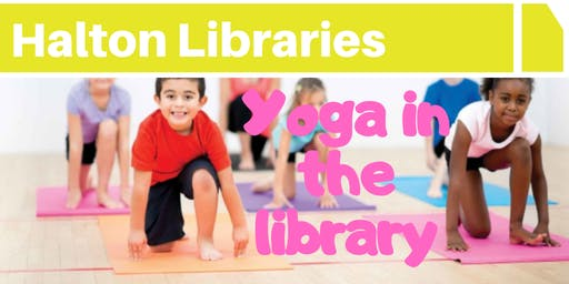 Yoga in the library - Widnes Library