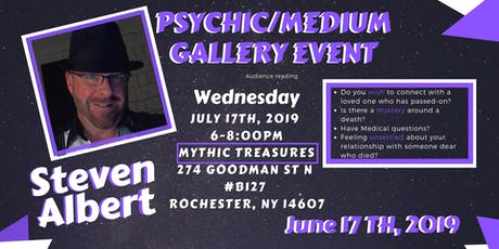 Steven Albert: Psychic Medium Gallery Event - 7/17 tickets