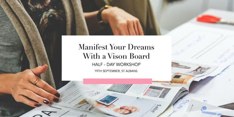 Manifest Your Dreams With A Vision Board  tickets