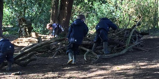 Forest School Specialist Camp - 7th August 2019 3-7 year olds!